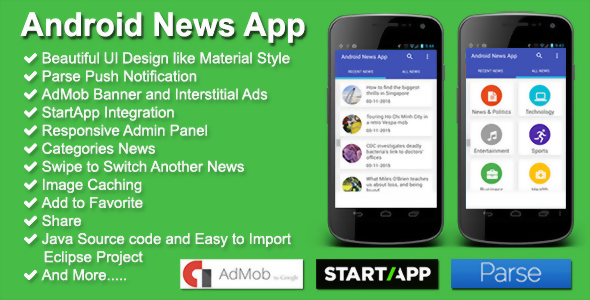 codecanyon code source : Android News App source code free