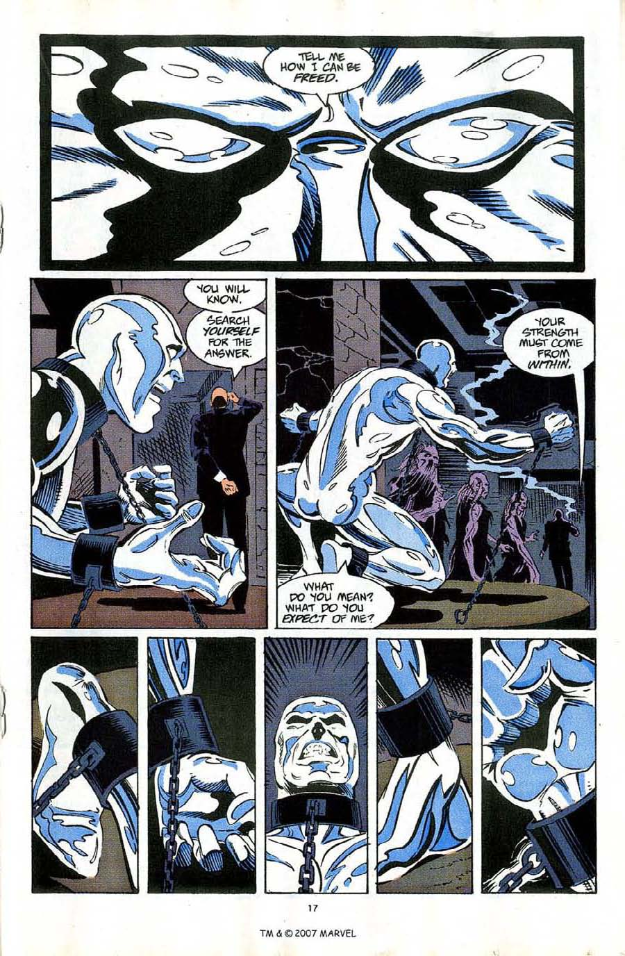 Read online Silver Surfer (1987) comic -  Issue #58 - 19