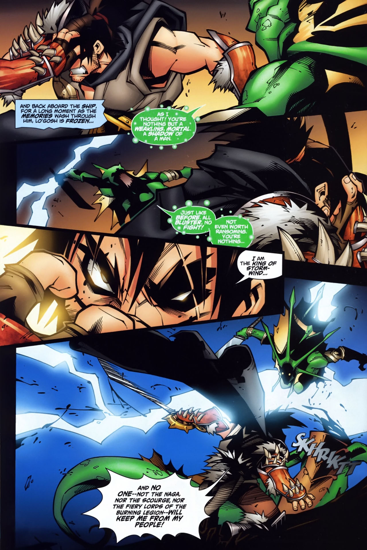 Read online World of Warcraft comic -  Issue #7 - 21