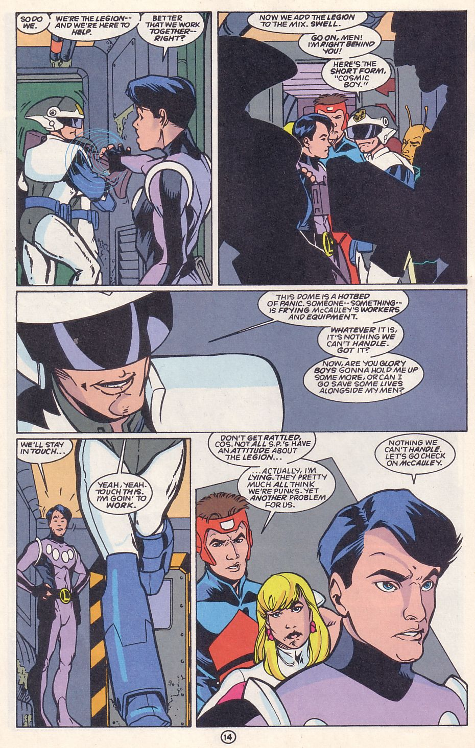 Legion of Super-Heroes (1989) 63 Page 14