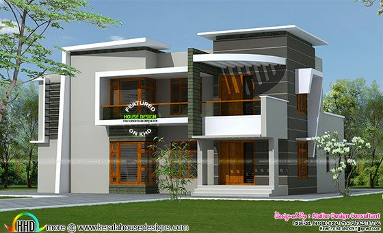 Modern villa in 2285 square feet
