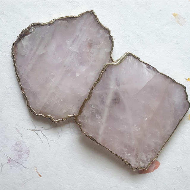 Rose Quartz Coasters