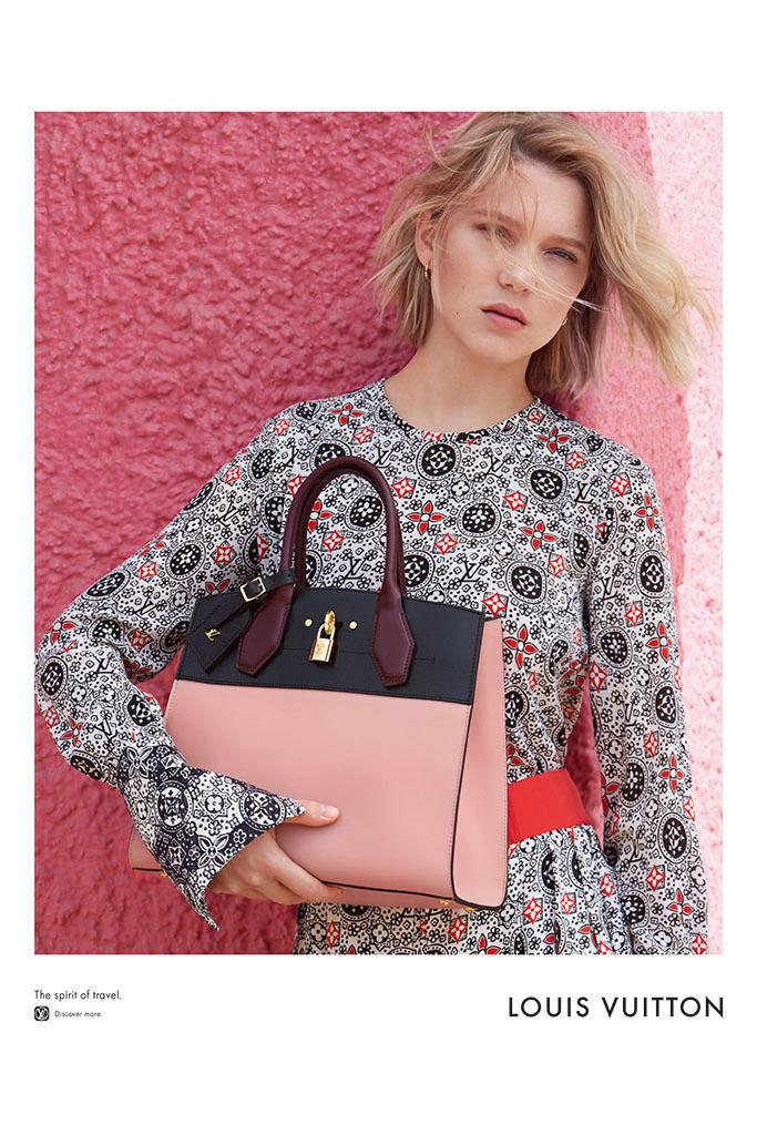 Léa Seydoux for Louis Vuitton 'Spirit of Travel' Spring/Summer 2016