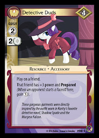 My Little Pony Detective Duds Marks in Time CCG Card