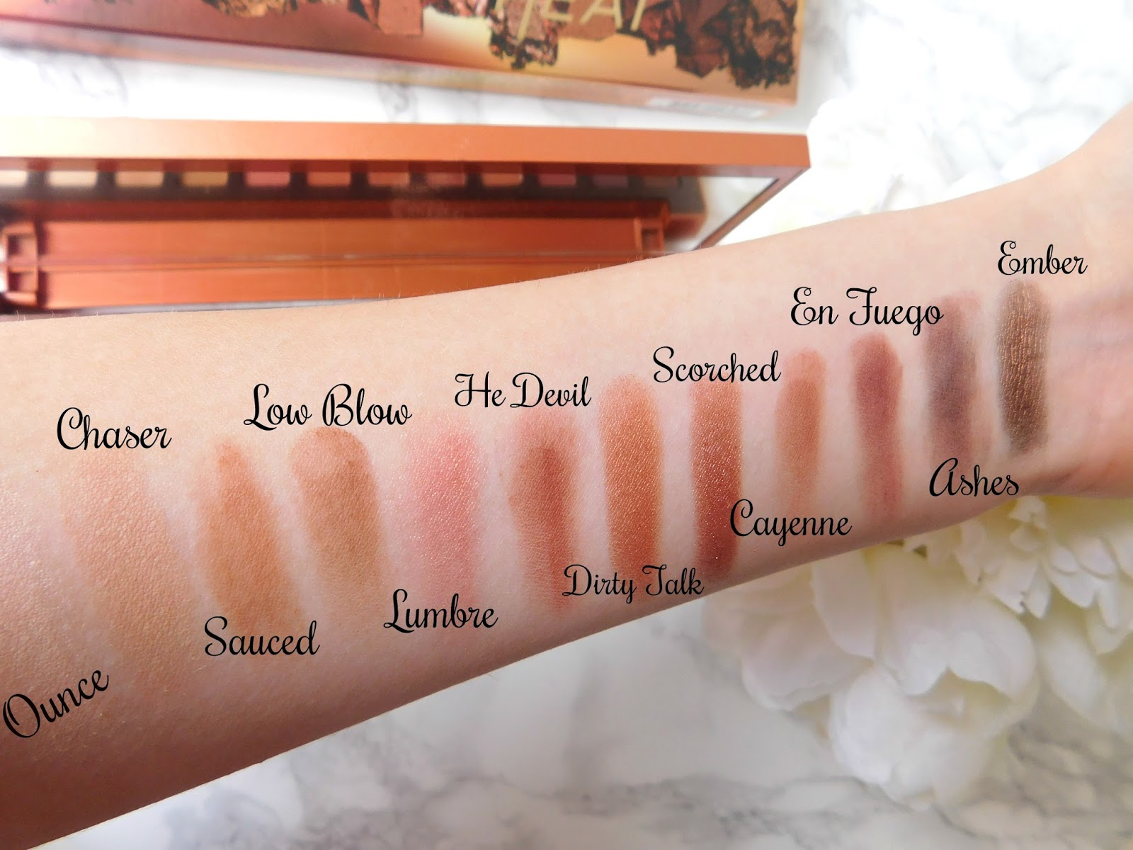 Naked Heat Palette Review, Urban Decay, Eyeshadow Palettes