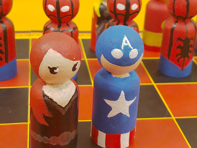 Marvel  DIY Super Chess Game