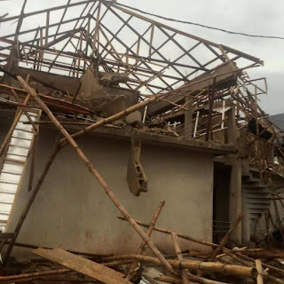 Photos: Completed Shopping mall built on government land demolished in Edo