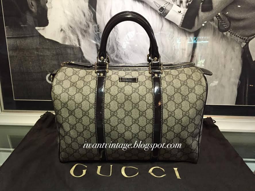 i want vintage vintage designer handbags gucci joy original gg