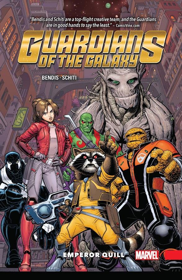 guardians of the galaxy vol 1 emperor quill