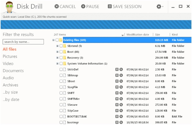 Recover Deleted Files from Recycle Bin with Disk Drill