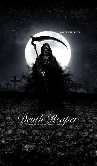 Death reaper Day of the dead 02