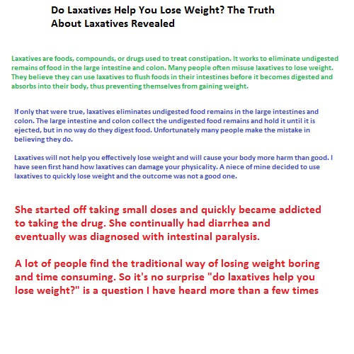 Httpwww Overlordsofchaos Comhtmlorigin Of The Word Jew Html: Do Laxatives Help You Lose Weight? The Truth About