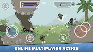 تحميل لعبة ميني ميليشيا مهكرة سلاح وطيران