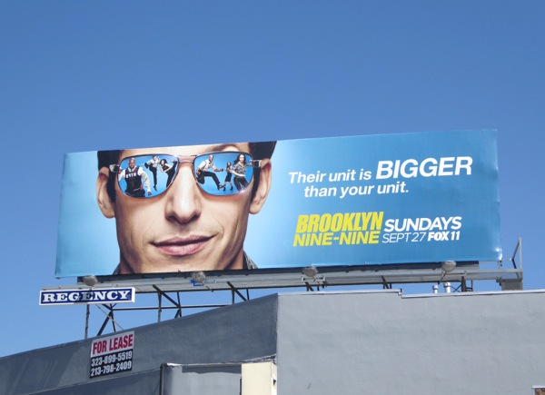 Brooklyn Nine Nine season 3 billboard