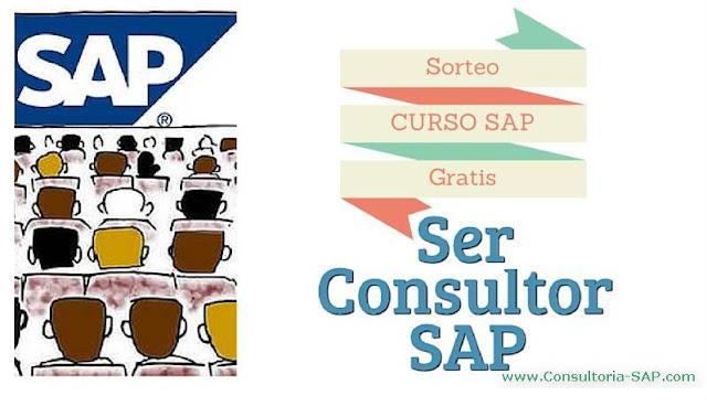 Sorteo curso gratis SAP
