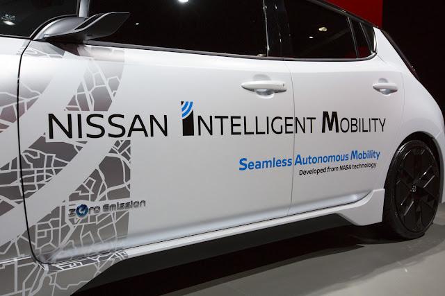 Nissan Autonomous vehicle 2017 CES