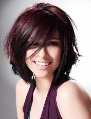 gaya rambut pendek untuk wanita dengan bentuk wajah panjang_9821547