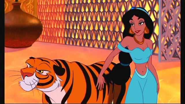 Tigre da Jasmine em Aladdin