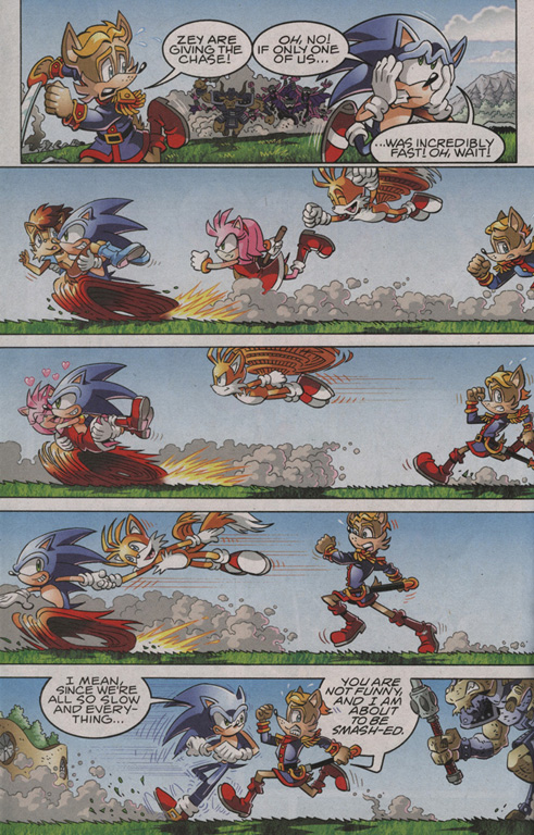 Read online Sonic The Hedgehog comic -  Issue #206 - 13