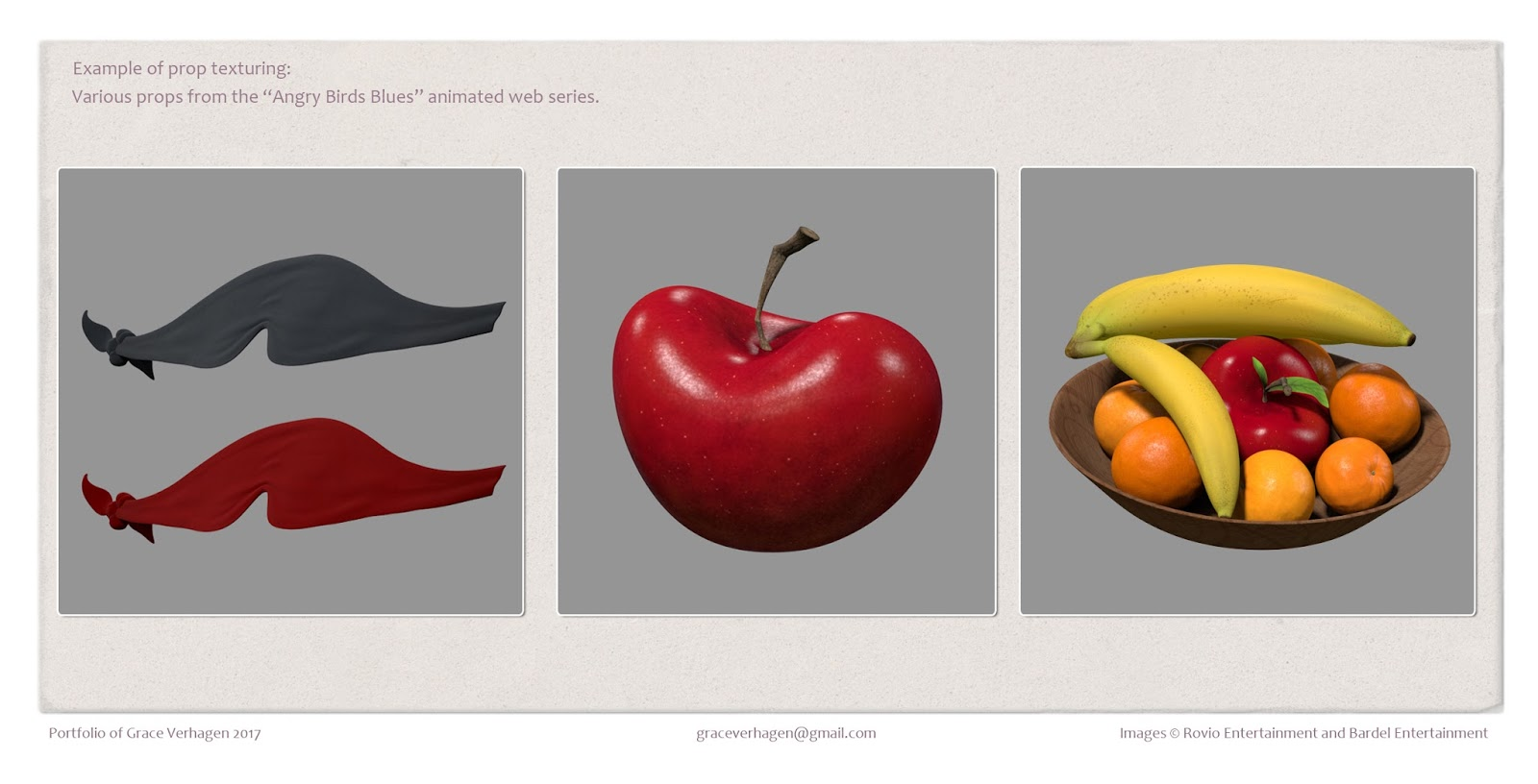 Grace Verhagen - Digital Artist: Texture Portfolio