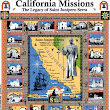 Saint Junipero Serra Legacy canonization T-shirt design with all California Missions.