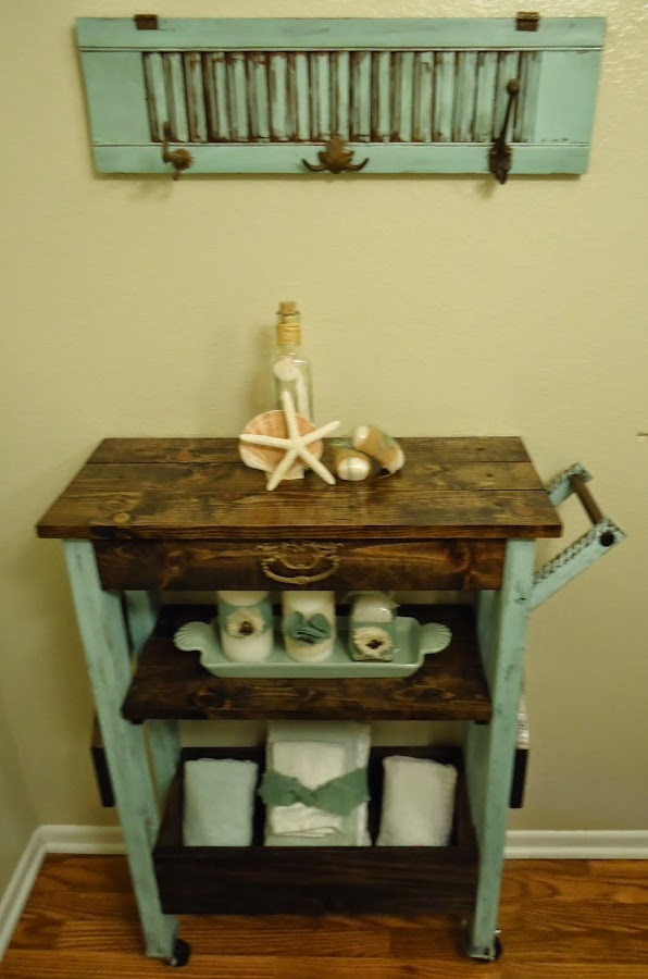 Bathroom Etagere - SOLD