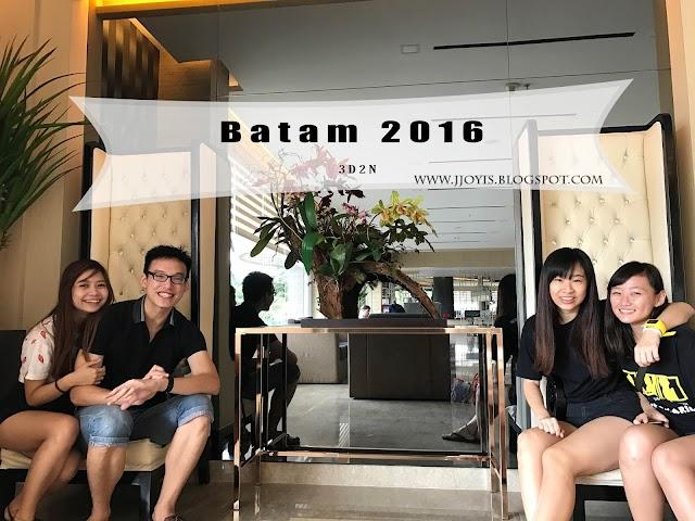 Travel: 3D2N Batam, 2017