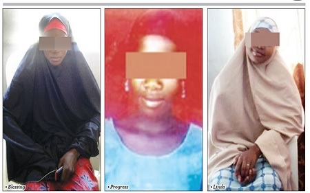 Jubilation as 3 Girls Forcefully Converted to Islam and Married Off Have Been Rescued in Bauchi (Photo)