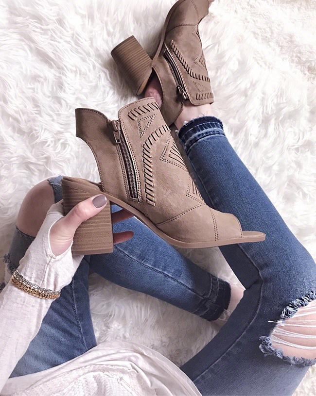 Spring Booties #targetstyle #booties #springshoes