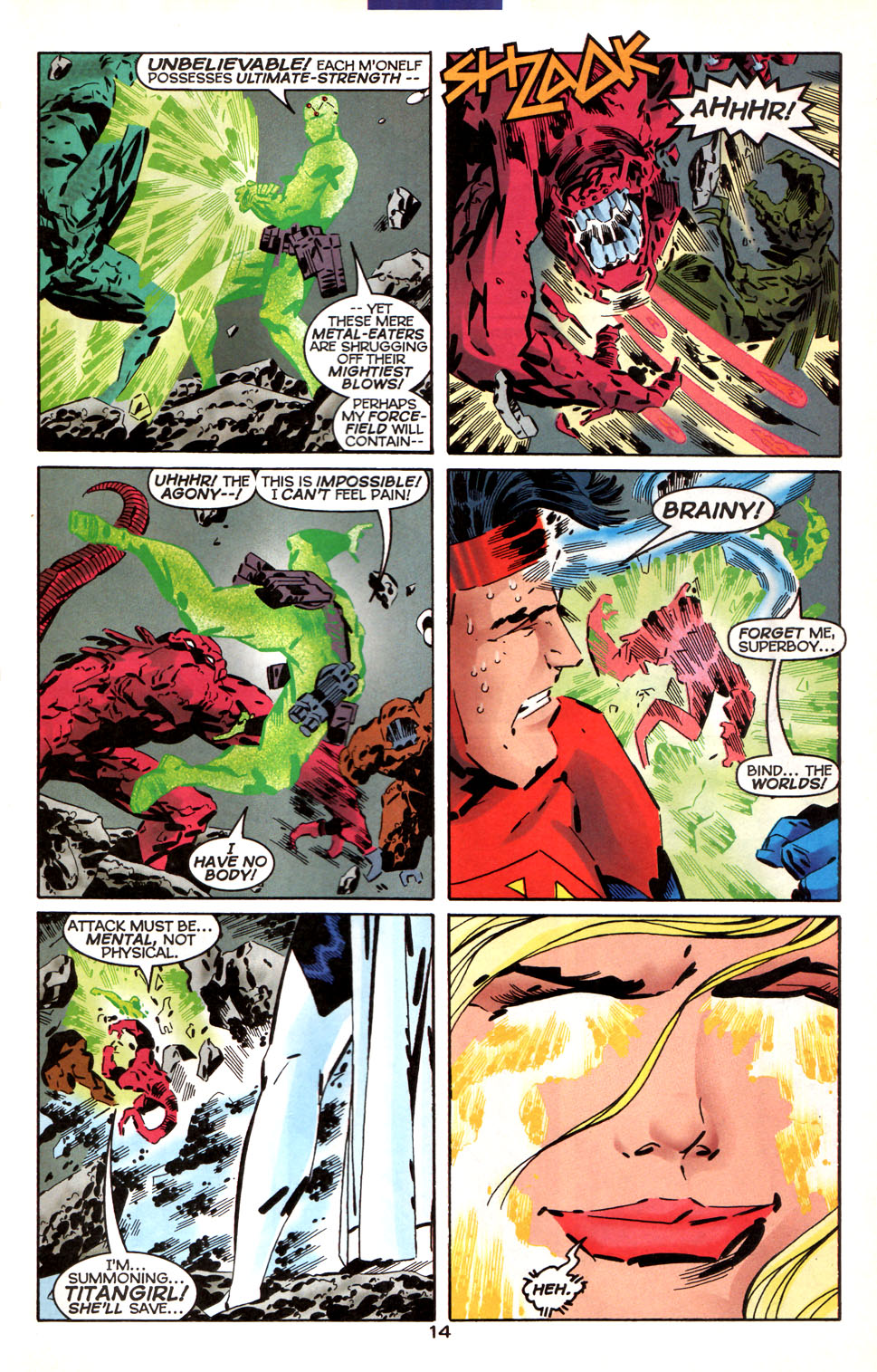 Legion of Super-Heroes (1989) 1000000 Page 15