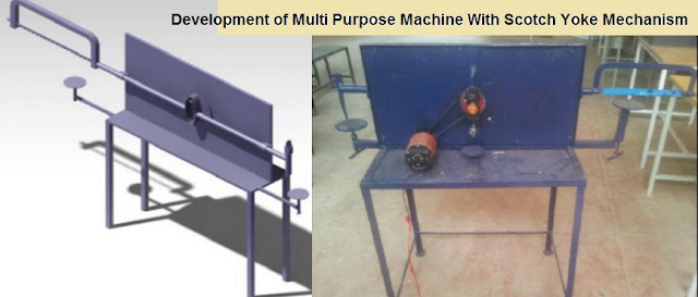 Development of Multi Purpose Machine With Scotch Yoke Mechanism