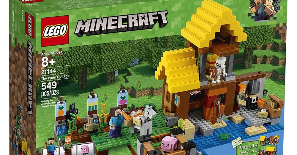 Minecraft Lego Farm Ceria Kv