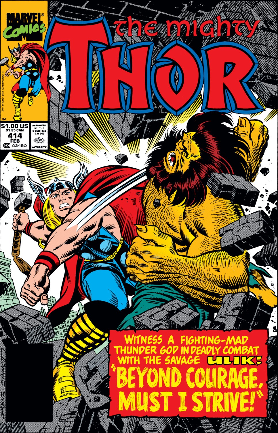 Thor (1966) 414 Page 1