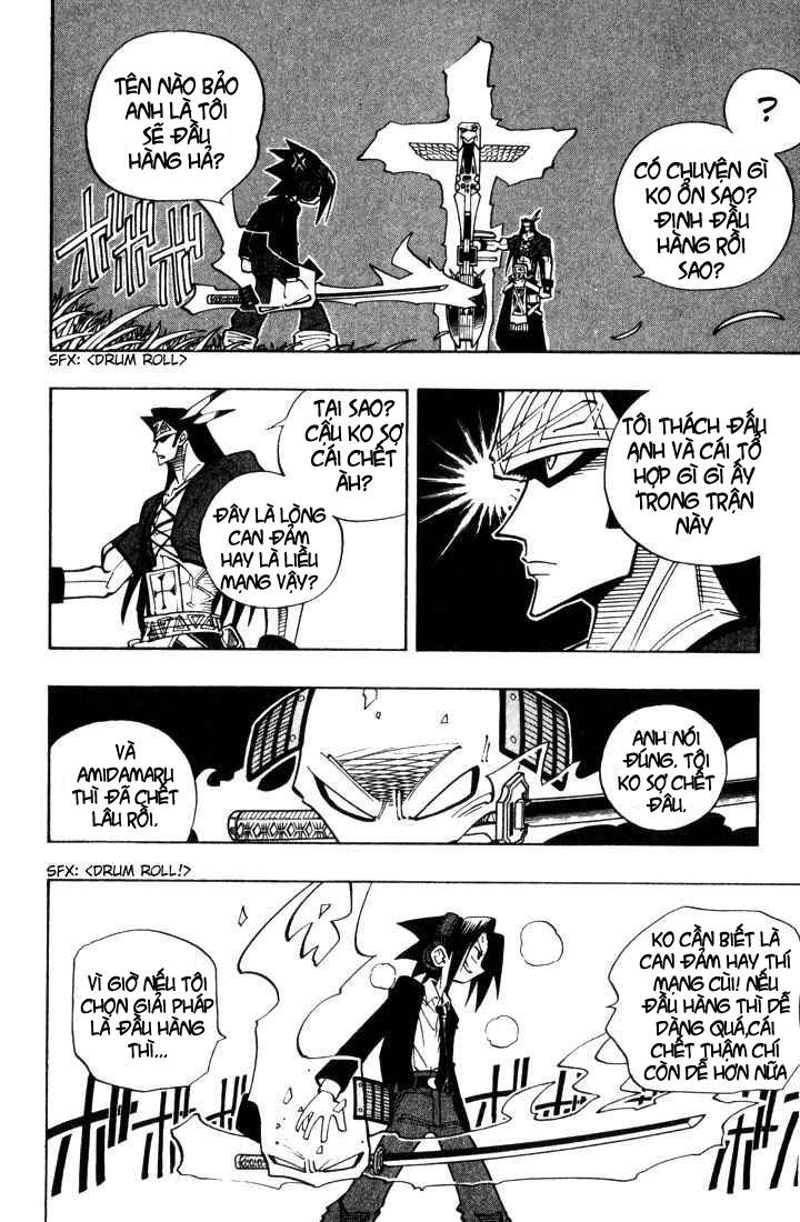 Shaman King [Vua pháp thuật] chap 30 trang 16
