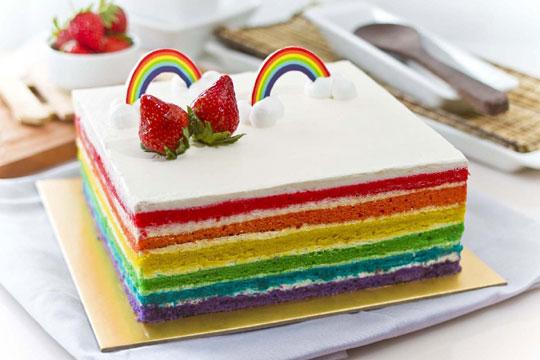 Resep Cake Tart Ncc: Resep Kue Tart Rainbow Paling Mudah Dan Praktis