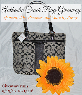Enter the Authentic Coach Handbag Giveaway. Ends 10/14