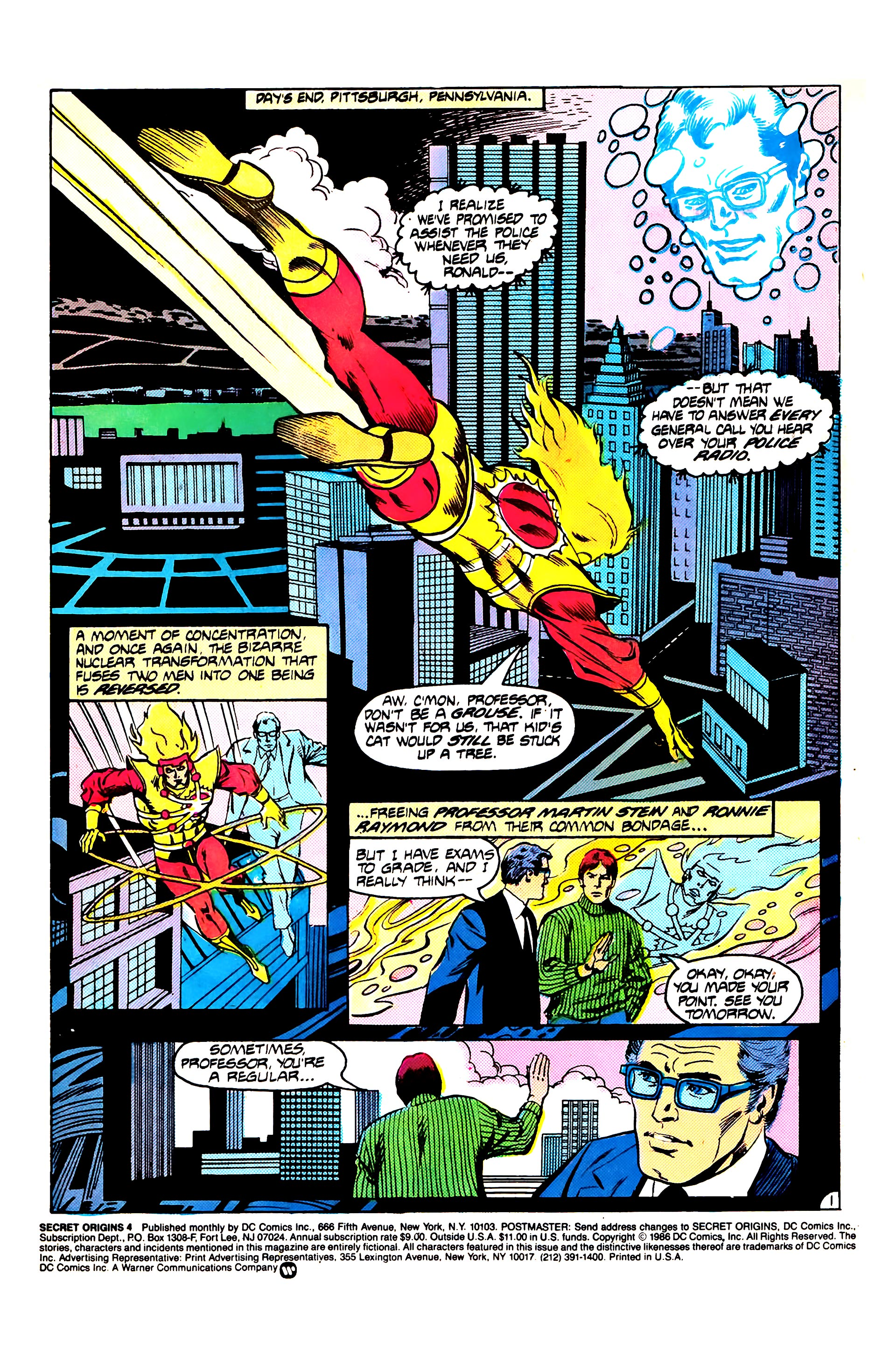 Read online Secret Origins (1986) comic -  Issue #4 - 3