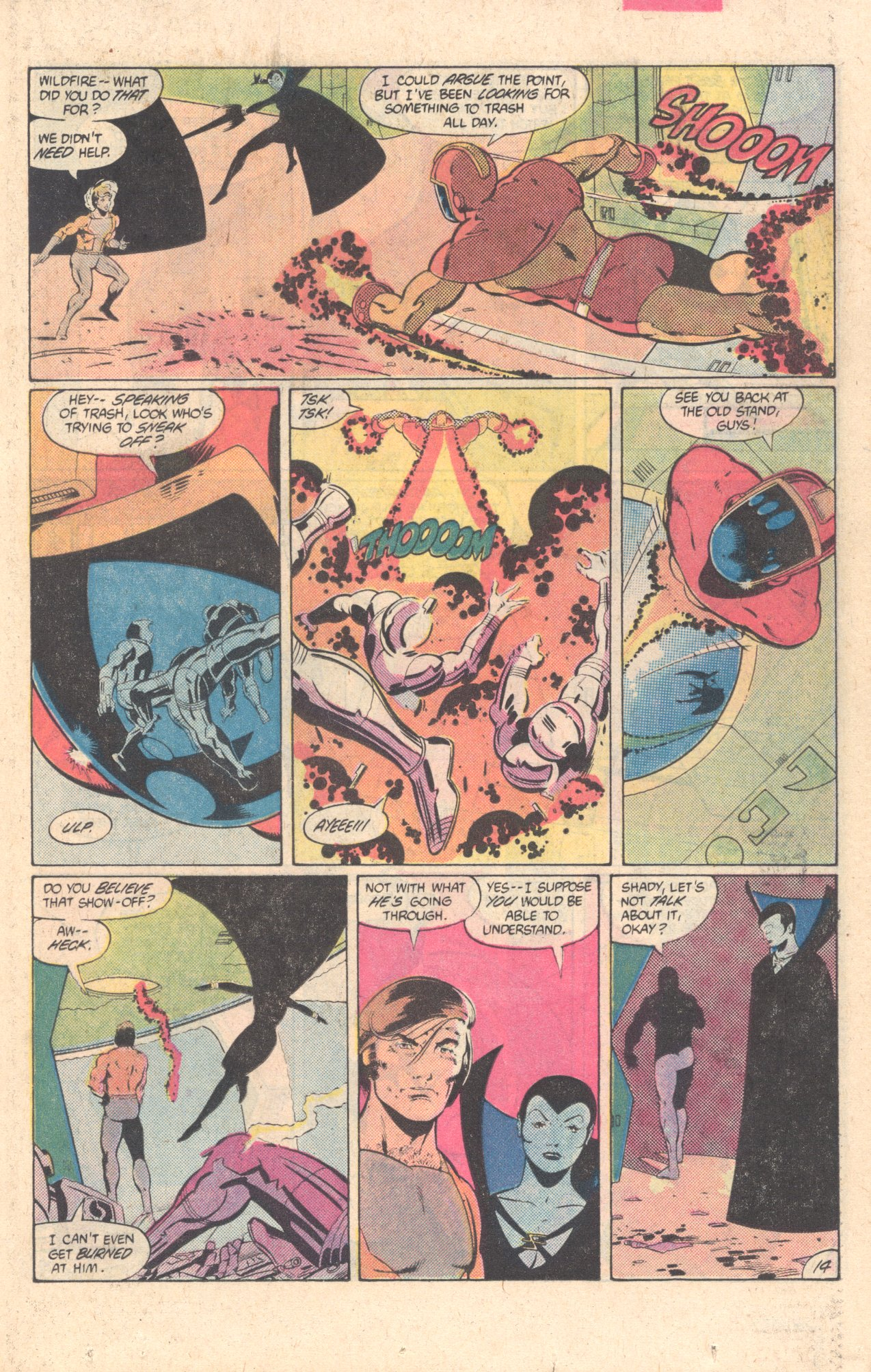 Legion of Super-Heroes (1980) 304 Page 14