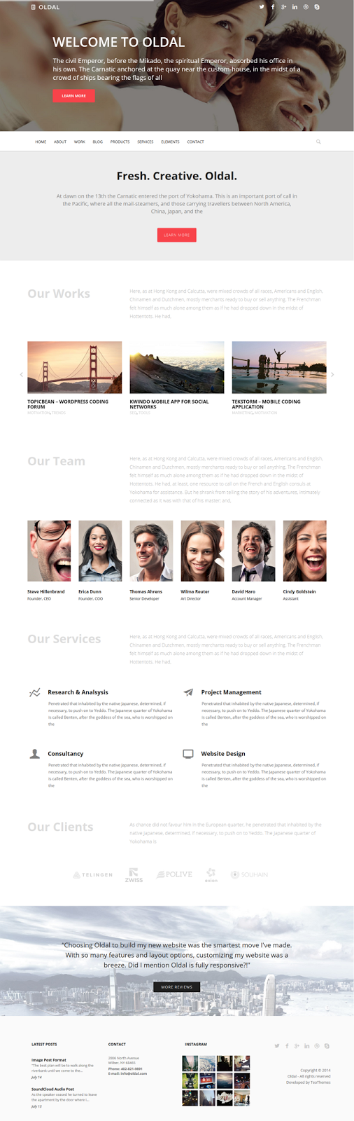 Responsive Business WordPress Theme