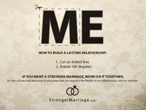 Green Pear Diaries, publicidad creativa, minimalista, Stronger Marriage