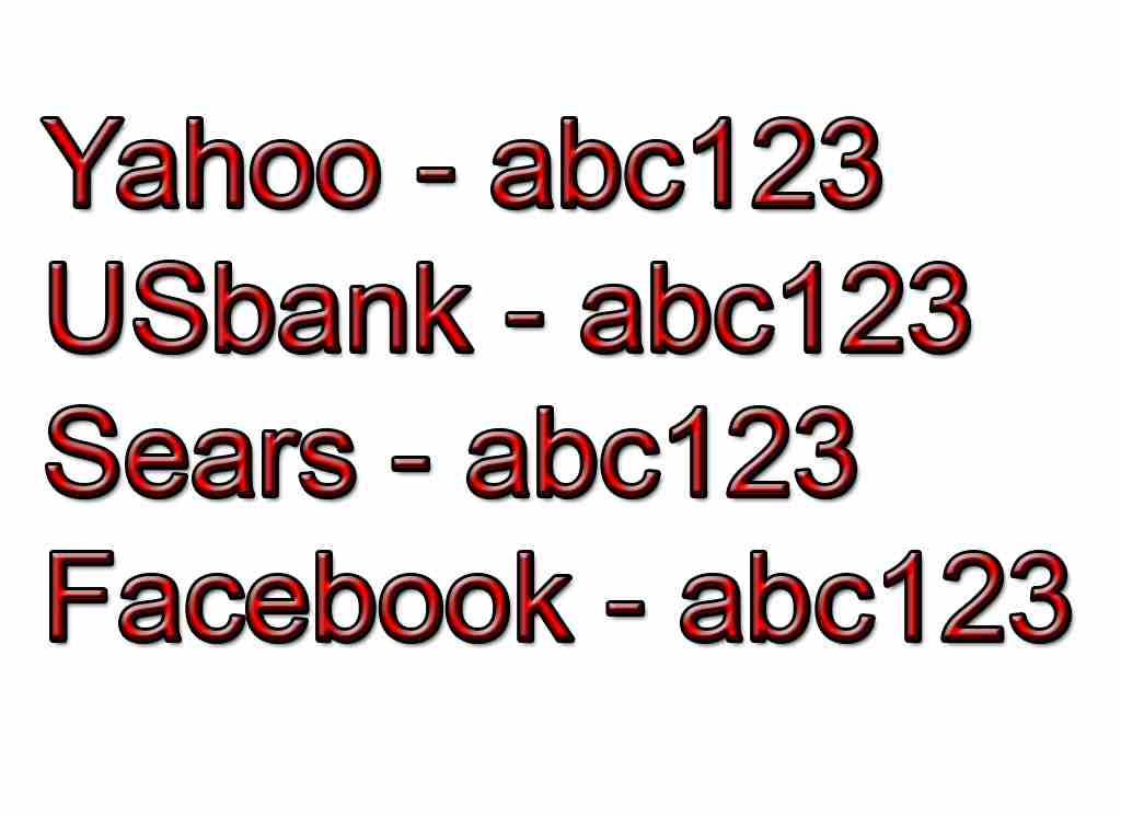 Jangan Gunakan Password yang sama untuk Semua Akun