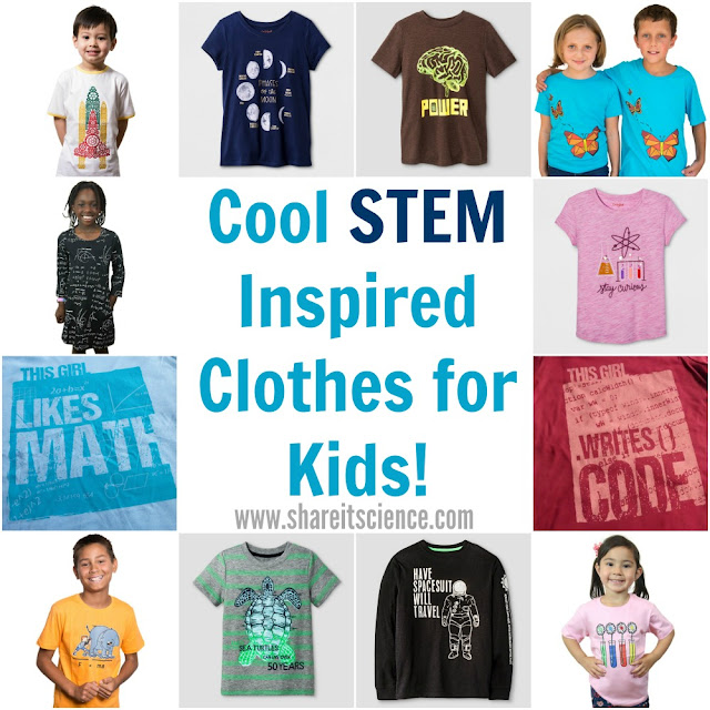 Affordable Cool STEM and Science Clothes for Kids