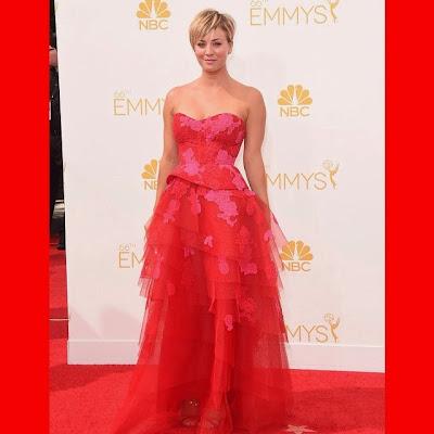 Kaley Cuoco 66th Emmy Awards
