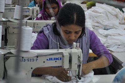 Garment making process