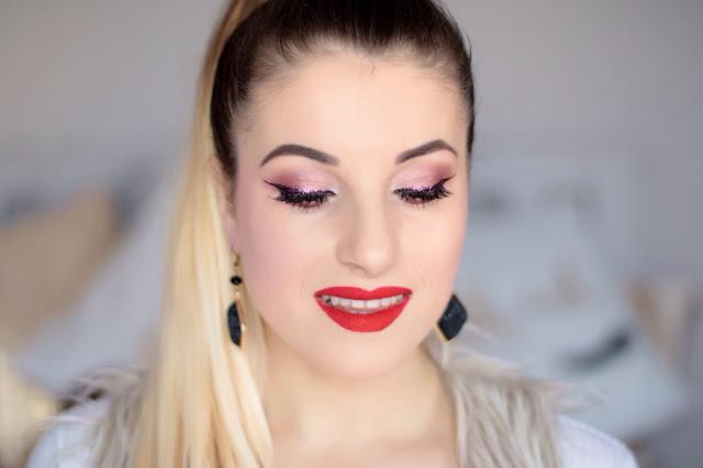 Zmysłowy koktajlowy makijaż - Zoeva Makeup