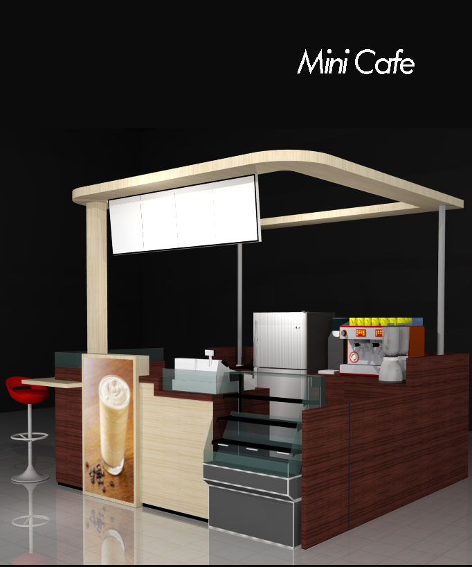 Mini  Cafe  Griya Booth