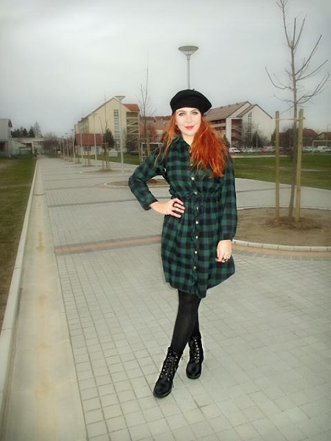 sammydress, online shop, onlajn šop, trgovina, my honest experience, moje iskustvo, moda, fashion, haljina, karirana, dress, zelena, green, plaid, fashion, moda