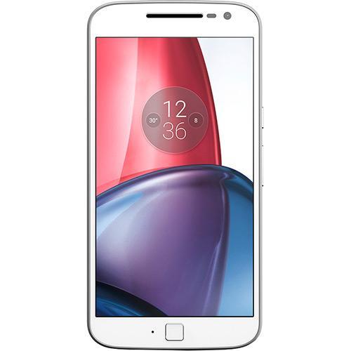 Smartphone Moto G 4 Plus Dual Chip Android 6.0 Tela 5.5'' 32GB Câmera 16MP - Branco