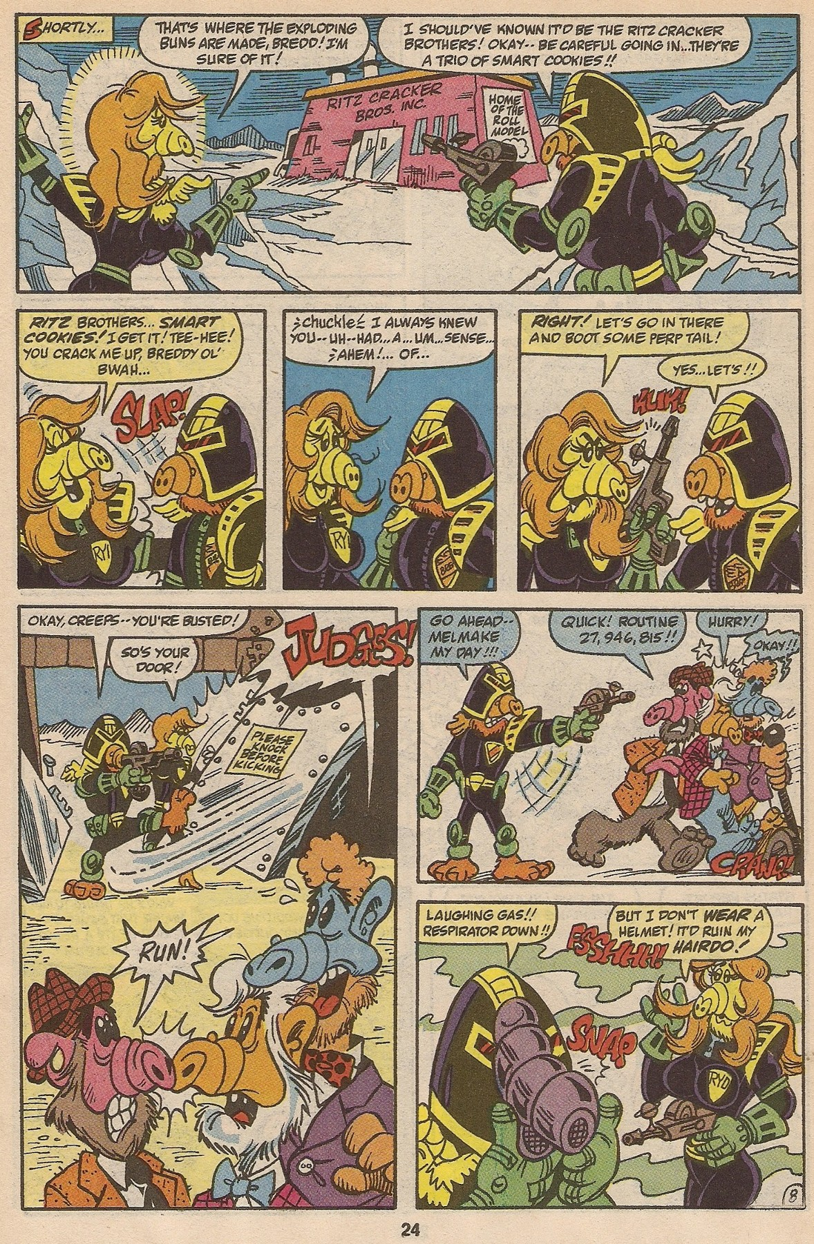Read online ALF comic -  Issue #35 - 25