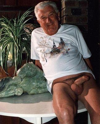 Big penis grandpa